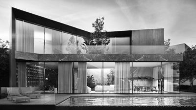 Bodrum Villas Rendering